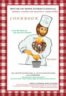 Ebook cover: House Of Hope International Cookbook