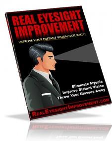 Ebook cover: Real Eyesight Improvement