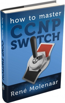 Ebook cover: How to Master CCNP SWITCH