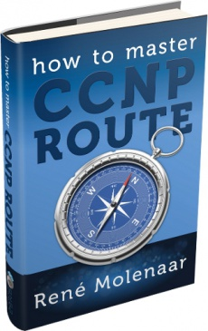 Ebook cover: How to Master CCNP ROUTE