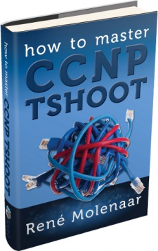 Ebook cover: How to Master CCNP TSHOOT