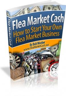 Ebook cover: Flea Market Cash