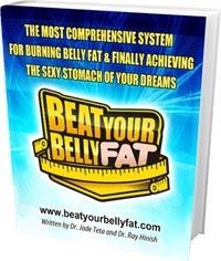 Ebook cover: The Beat Your Belly Fat