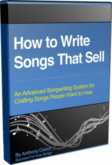 Ebook cover: How to Write Songs That Sell
