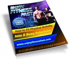 Ebook cover: Enjoy Fitness Fast