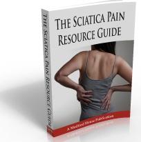 Ebook cover: The Sciatica Pain Resource Guide