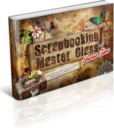 Ebook cover: Scrapbooking Master Class