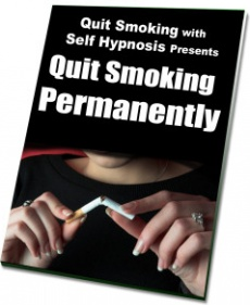 Ebook cover: Quit Smoking with Self Hypnosis