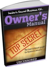 Ebook cover: Insiders Secret Business Kit
