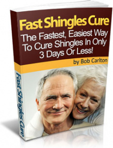 Ebook cover: Fast Shingles Cure