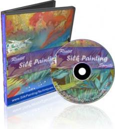 Ebook cover: Resist Silk Painting Secrets