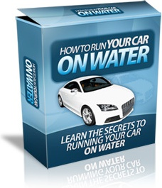 Ebook cover: How To Run Car On Water