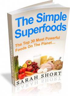 Ebook cover: Superfoods Made Simple