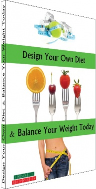 Ebook cover: Design Your Own Diet