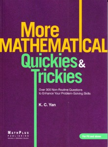 Ebook cover: More Mathematical Quickies & Trickies