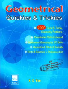 Ebook cover: Geometrical Quickies & Trickies