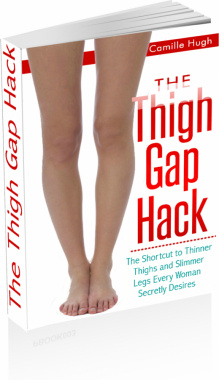 Ebook cover: The Thigh Gap Hack