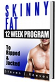 Ebook cover: Skinny Fat to Ripped & Jacked