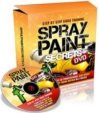 Ebook cover: Spray Paint Secrets