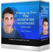 Ebook cover: Waking Up from the Homework Nightmare