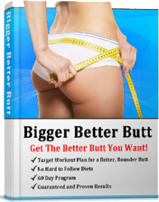 Ebook cover: Bigger Better Butt