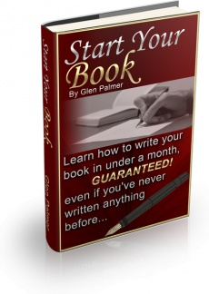Ebook cover: Start Your Book