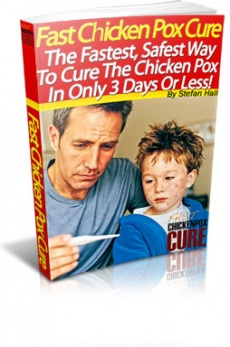 Ebook cover: Fast Chicken Pox Cure
