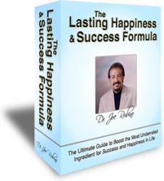 Ebook cover: Lasting Happiness & Success Formula
