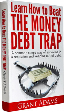 Ebook cover: Learn How To Beat The Money Debt Trap