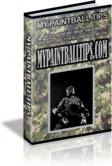 Ebook cover: My Paintball Tips