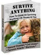 Ebook cover: Survive-Anything