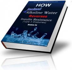 Ebook cover: How Ionized Alkaline Water Reverses Insulin Resistance
