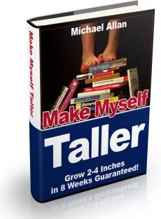 Ebook cover: Make Myself Taller