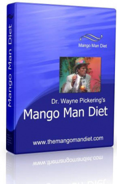 Ebook cover: The Mango Man Diet