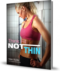 Ebook cover: Think Fit Not Thin