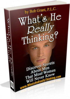 Ebook cover: What's He Really Thinking?