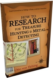 Ebook cover: Discover Historic Metal Detecting Sites!