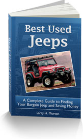 Ebook cover: The Best Used Jeeps Buyers Guide!