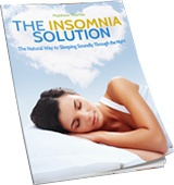 Ebook cover: The Insomnia Solution