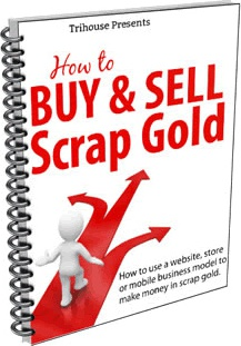 Ebook cover: How to Buy & Sell Scrap Gold