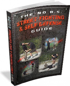 Ebook cover: The No B.S.Street-fighting & Self Defense Guide