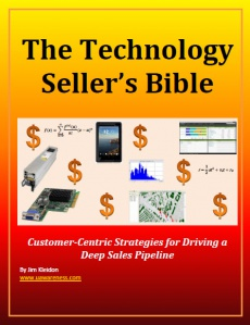Ebook cover: The Technology Seller's Bible