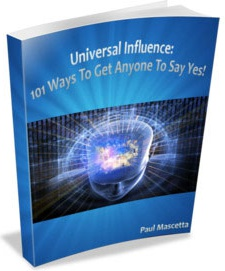 Ebook cover: Universal Influence