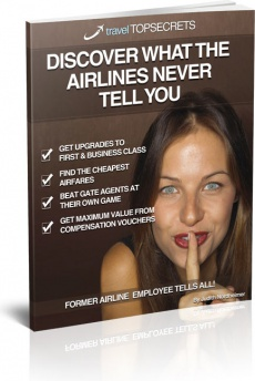 Ebook cover: What The Airlines Never Tell you