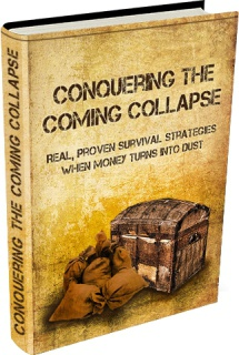 Ebook cover: Conquering The Coming Collapse
