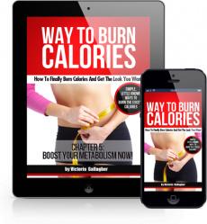Ebook cover: Way to Burn Calories