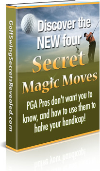 Ebook cover: The New Four Magic Moves To Winning Golf