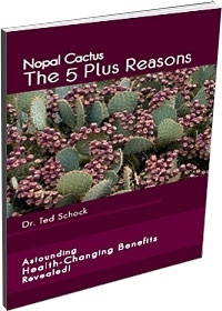 Ebook cover: The Nopal Cactus and The 5 Plus Benefits