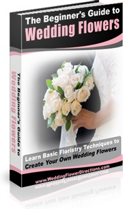 Ebook cover: The Beginner's Guide to Wedding Flowers