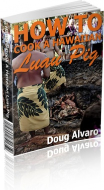 Ebook cover: How To Cook A Hawaiian Luau Pig